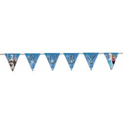 Personalised name Frozen Bunting
