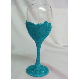 Gliiter Wine Glasses
